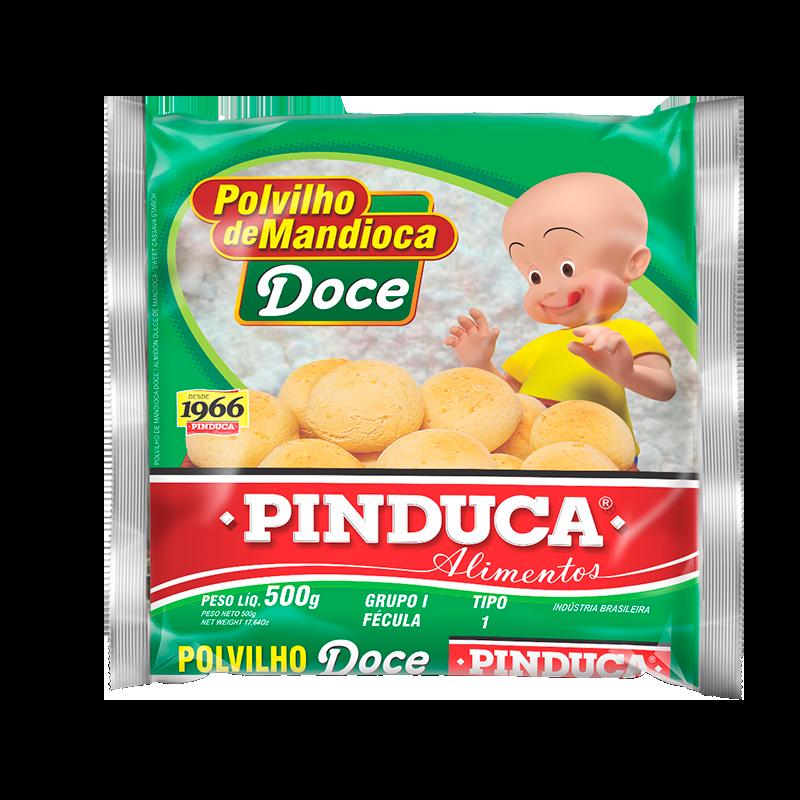 POLVILHO DE MANDIOCA DOCE PINDUCA 500G (PLÁSTICA)