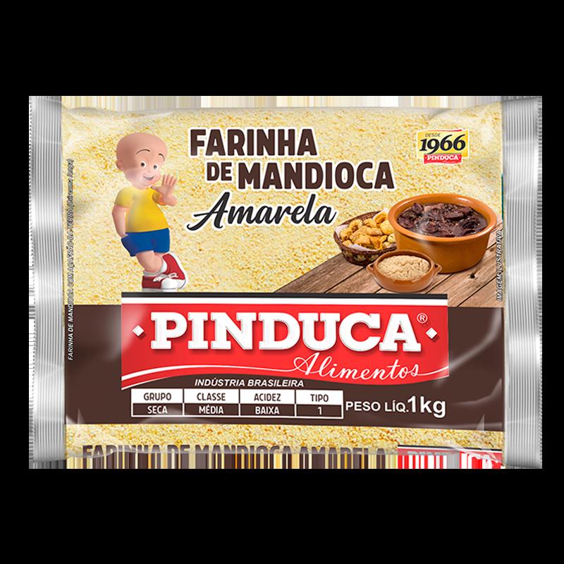 FARINHA DE MANDIOCA AMARELA PINDUCA 1KG