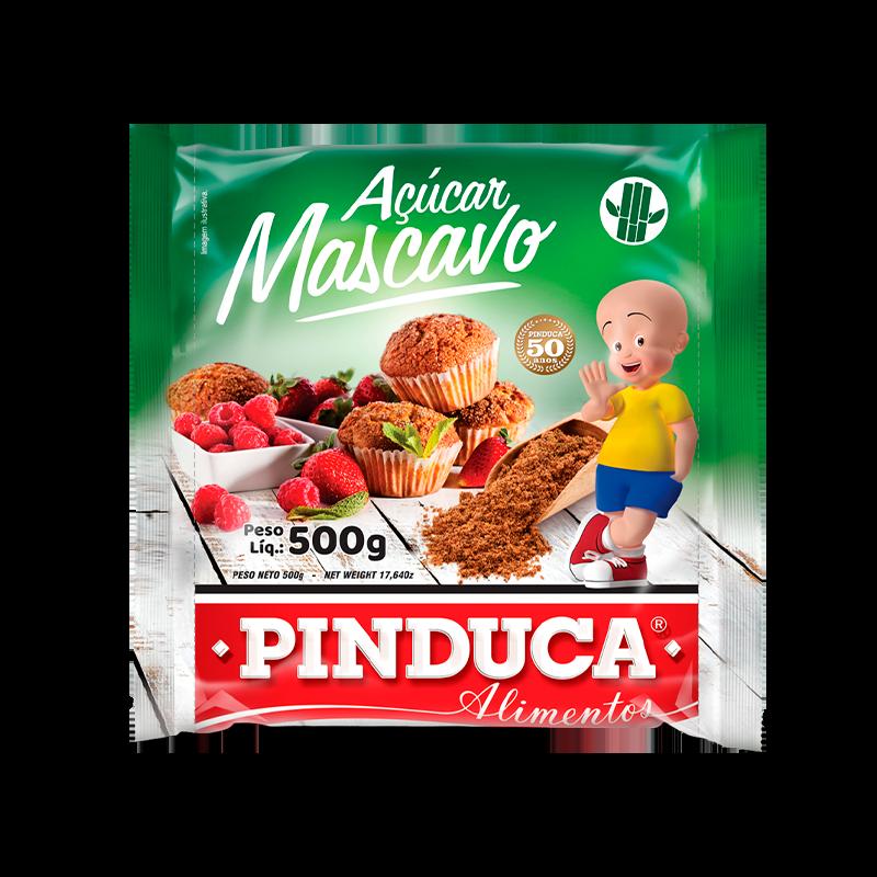 AÇÚCAR MASCAVO PINDUCA 500G